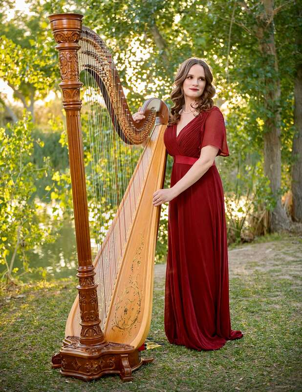 Wedding music harpist